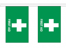 First Aid Medical Assistance 10m Flag Bunting